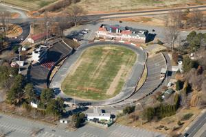 Bowman Gray Stadium could get $9 million from bonds; other projects discussed include Belview Recreation Center, parking deck, Liberty Plaza