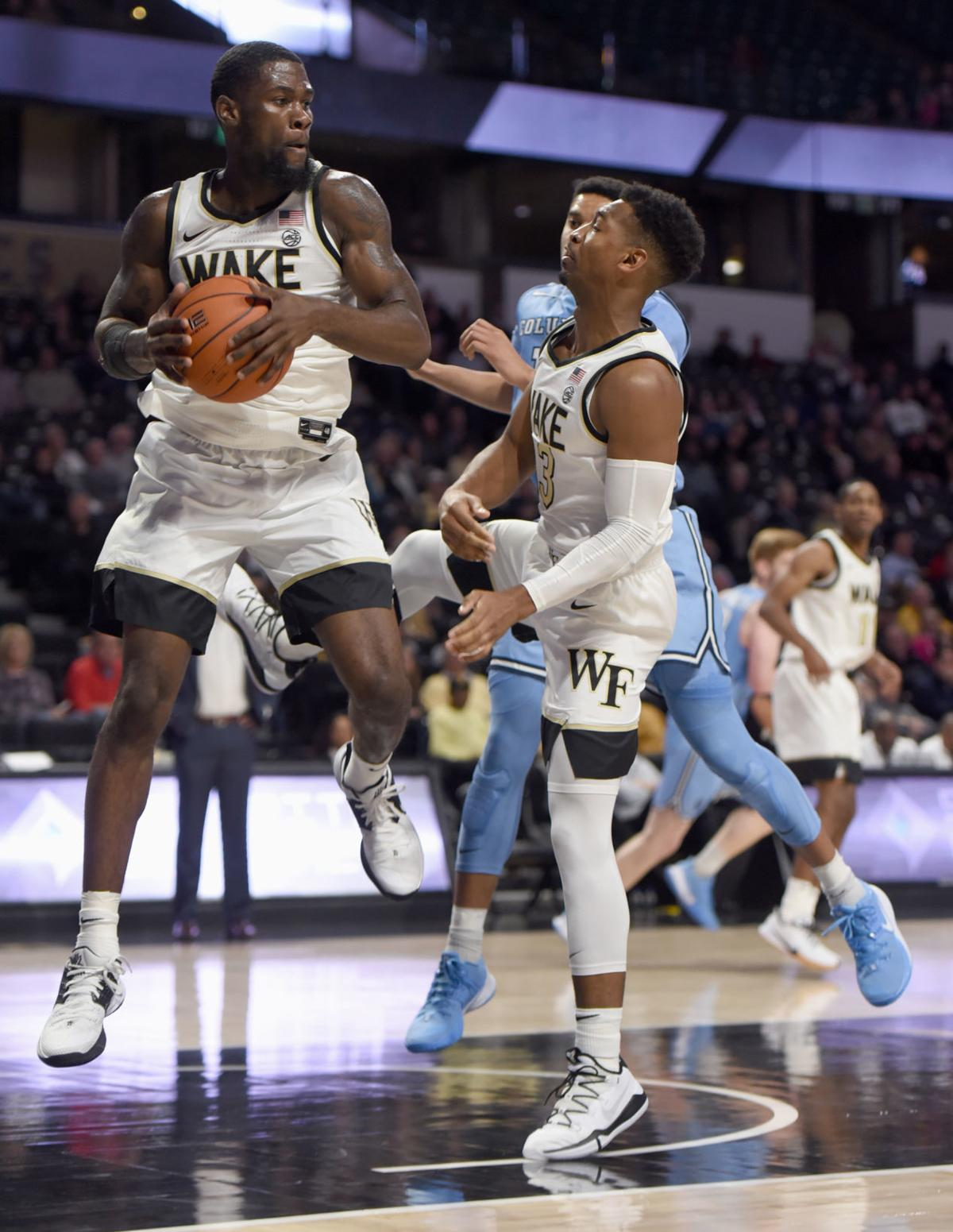 Columbia Wake Forest NCAA basketball