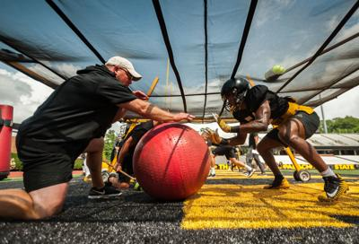 9d2481187a405 App Trail  App State defensive end leaves team to focus on academics ...