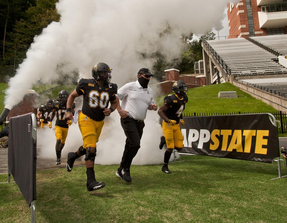 Campbell Appalachian State football