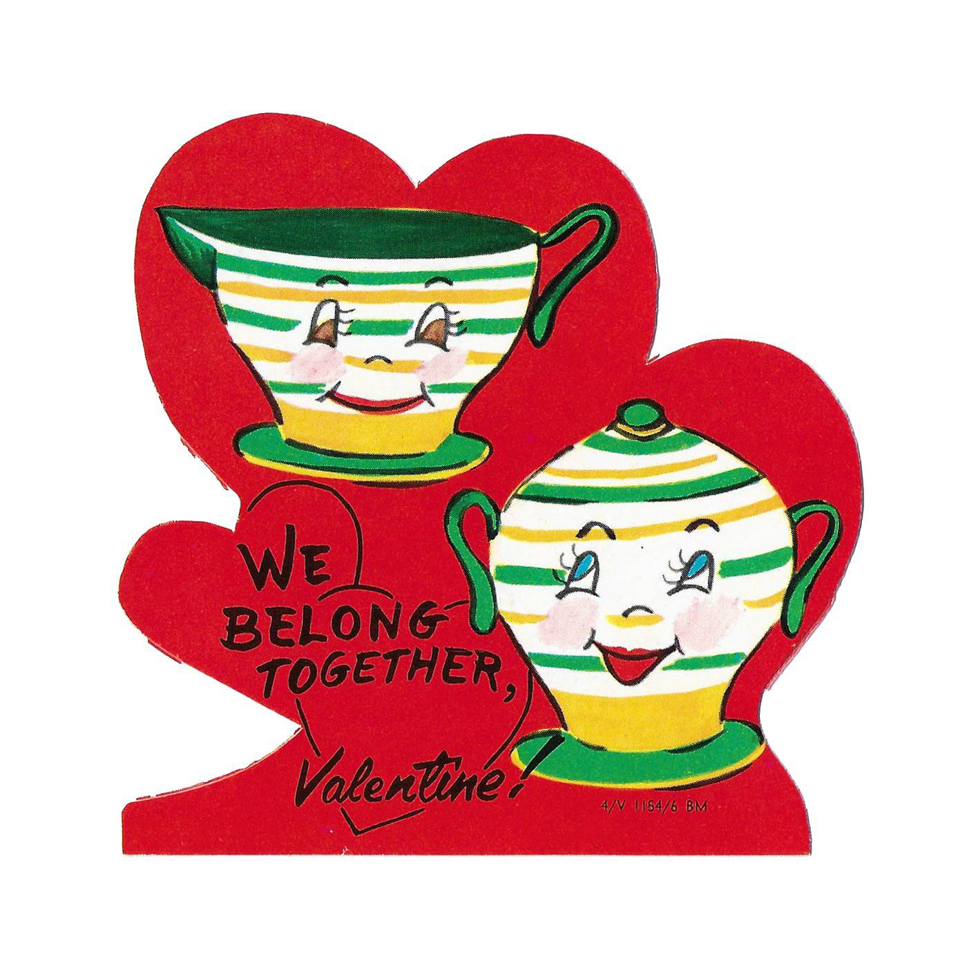 Vintage Valentine\u0027s cards are popular with collectors