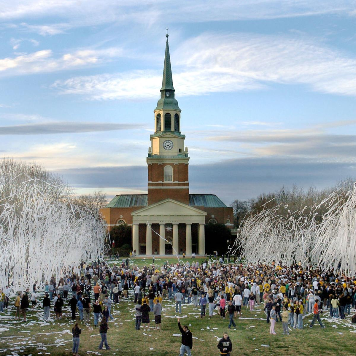 Wake Forest University Ranked 14th Among The Nation S Party Schools National News Journalnow Com