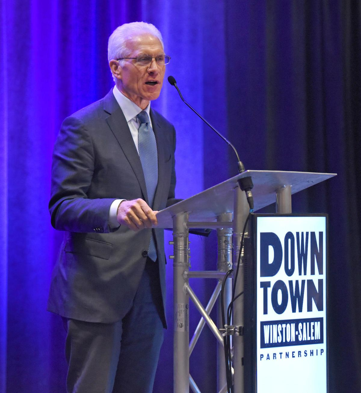 Downtown Winston-Salem Partnership luncheon