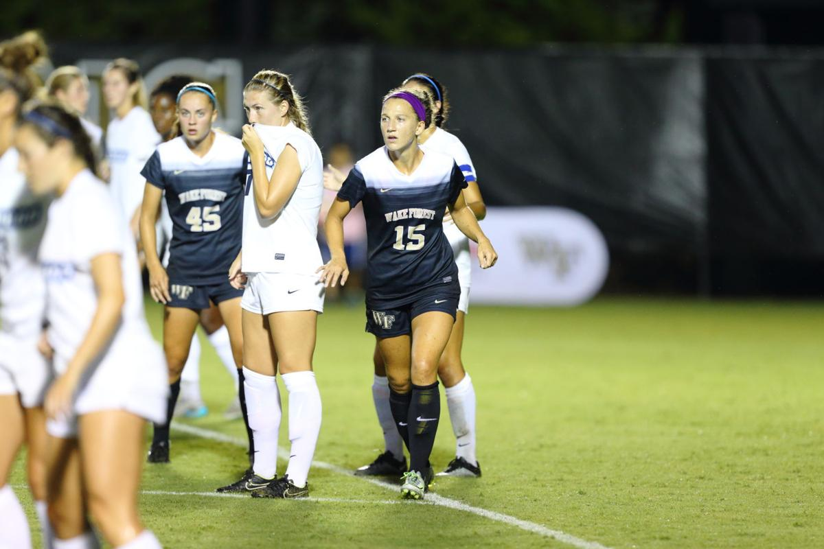 Wake Forest regroups after loss to Connecticut ends 7-game ... |Wake Forest Womens Soccer Camp
