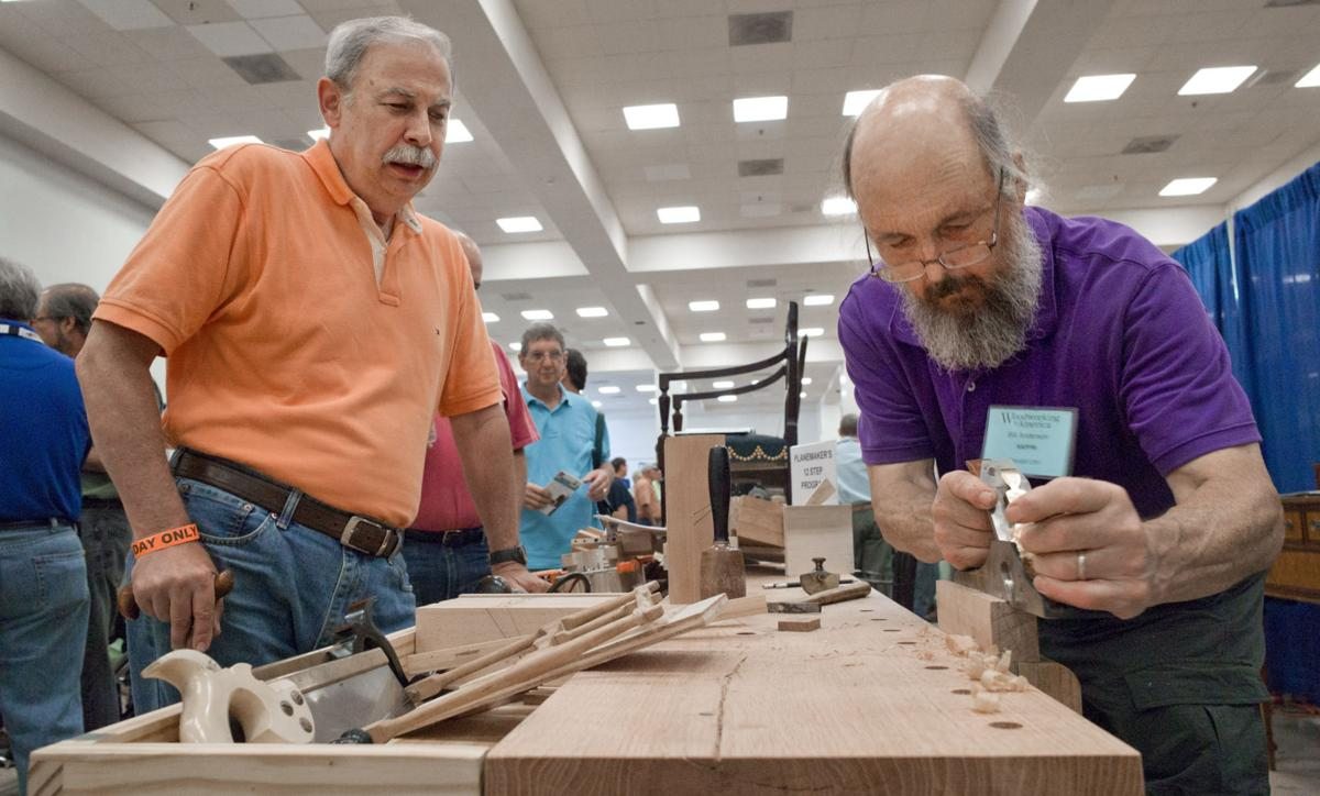 Pbs Star Underhill Attends Woodworking Gathering Local