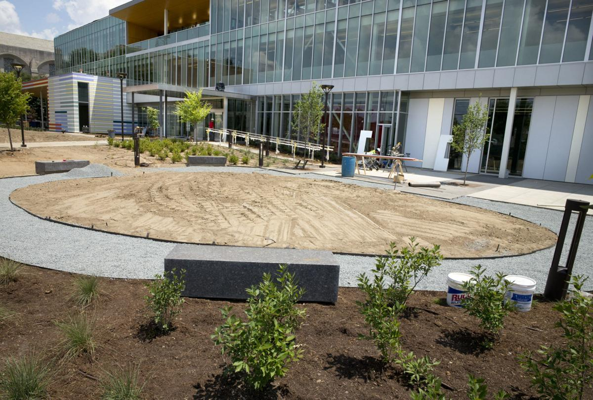 5 things that 39 ll lure you to new library in downtown for Landscaping rocks winston salem nc