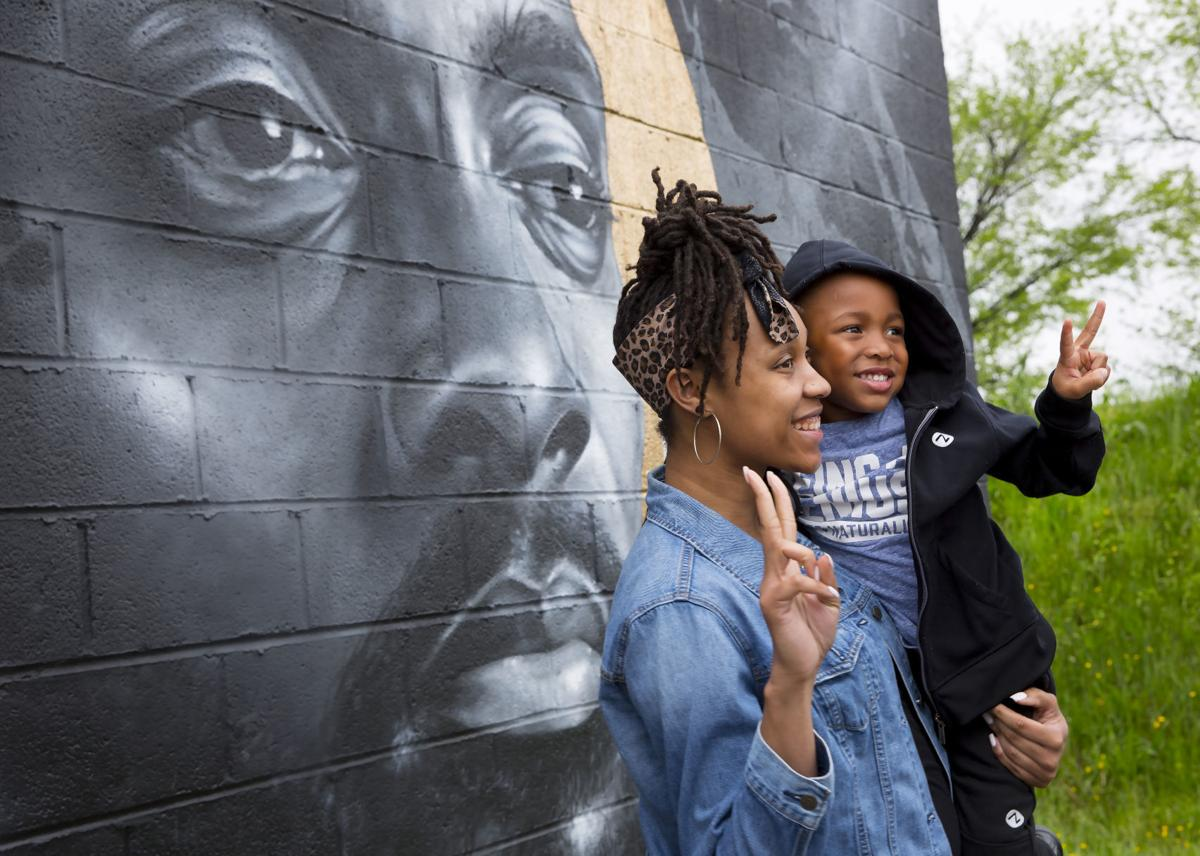 Nipsey Hussle mural drawing people to Greensboro business to