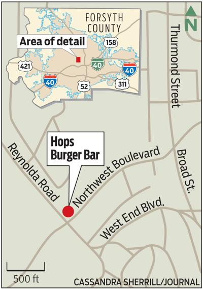 MAP: Hops location