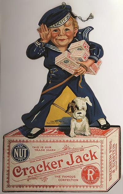 Cracker Jack store sign