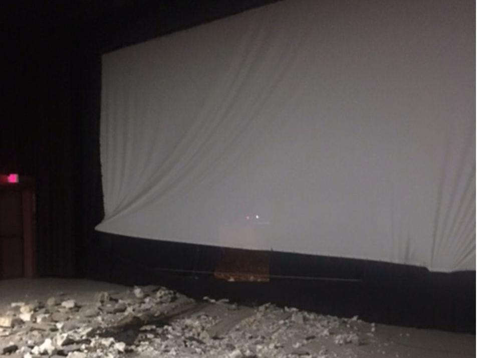 Greensboro movie cinema struck by vehicle; driver in serious condition