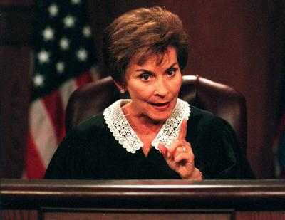 """""""Judge Judy"""""""