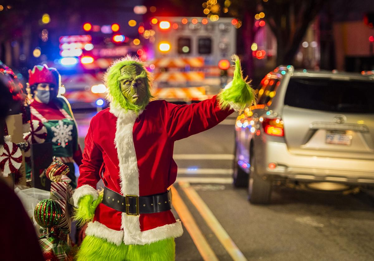 Salem Mo Christmas Parade 2021 Holiday Parade In Winston Salem Has Spectators Drive The Route Local News Journalnow Com