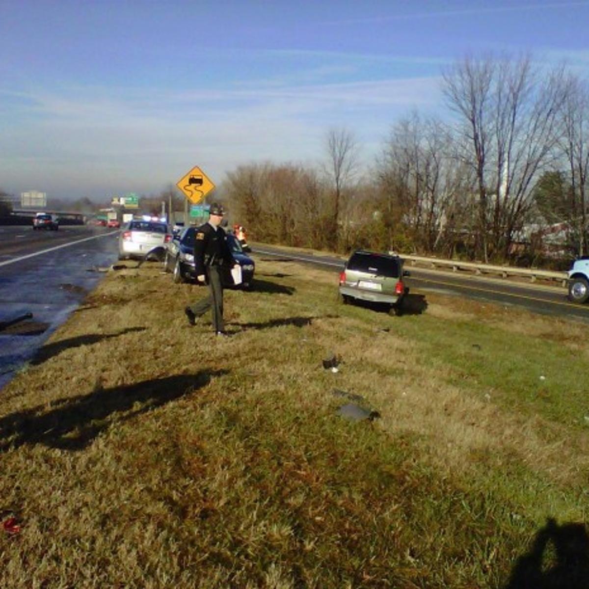 Trooper injured in crash on I-40 | Local News | journalnow com