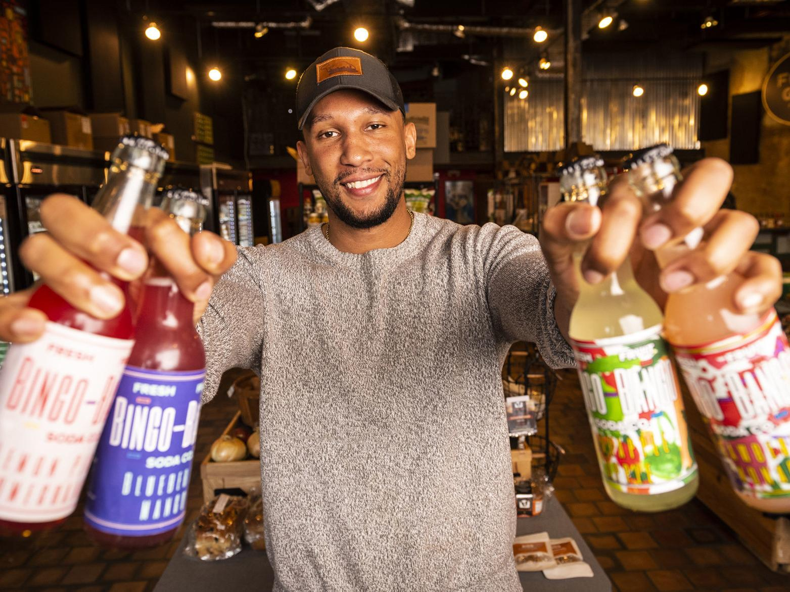 Local entrepreneur develops line of natural sodas