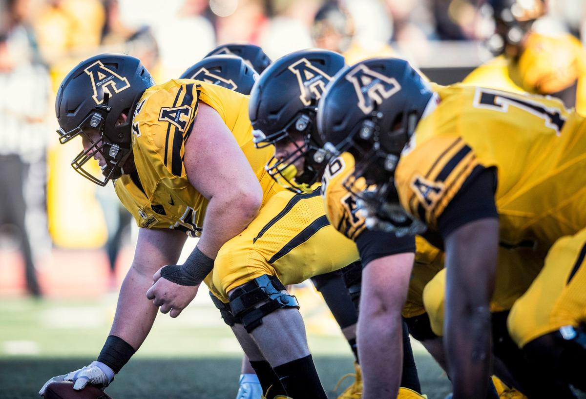 App State Offensive Line