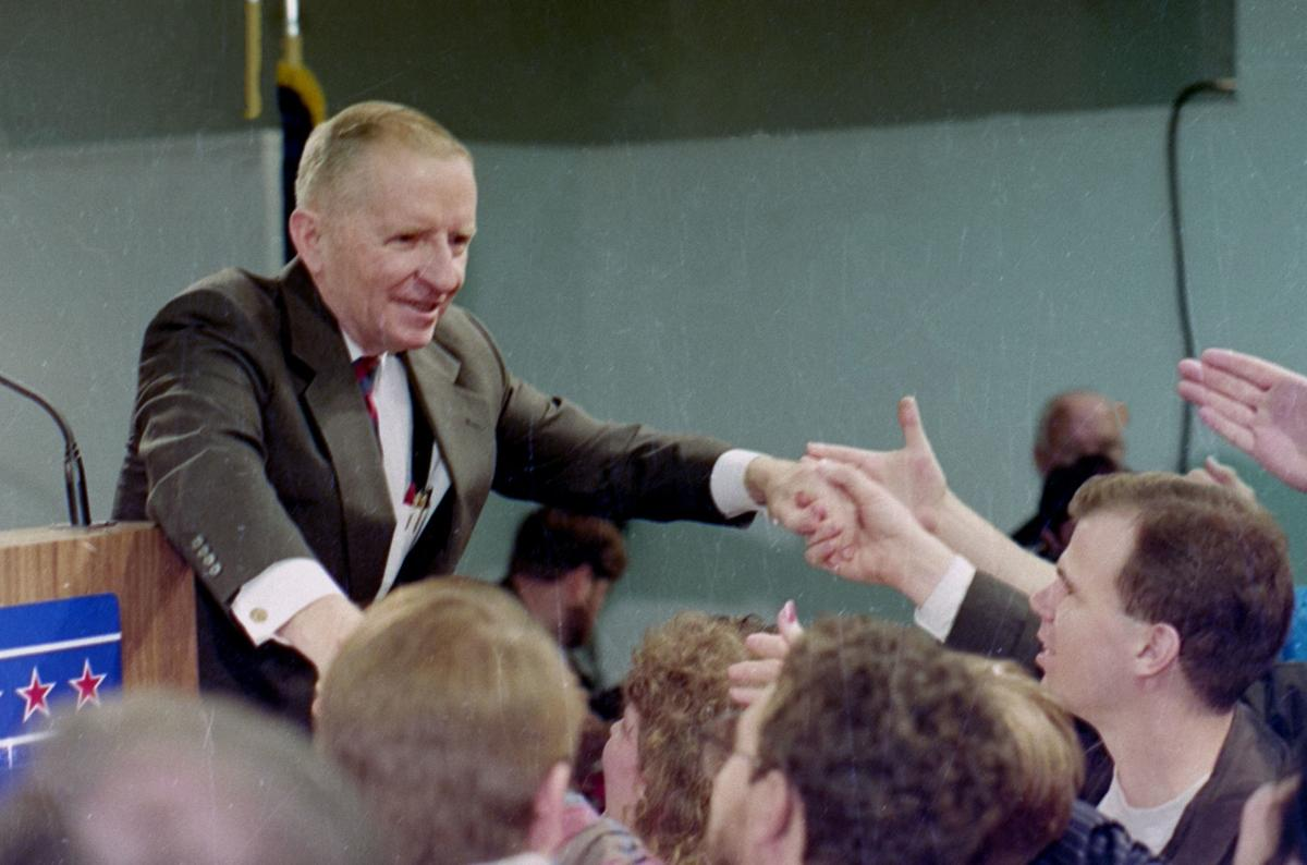 Ross Perot's 1993 visit to High Point