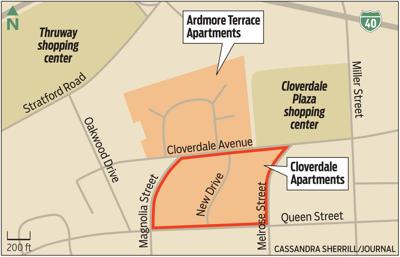Cloverdale and Ardmore Terrace Apartments