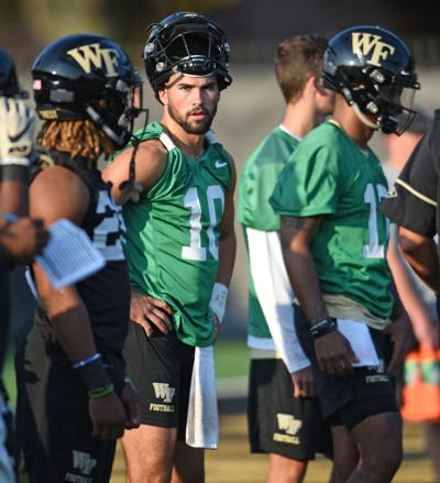 Wake Forest First Day of Football Practice