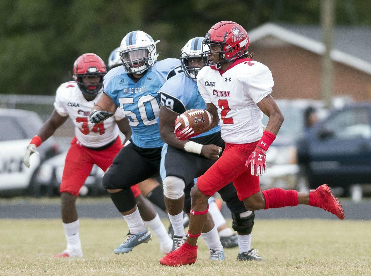 Winston-Salem State University defeated Livingstone College 21-0 on Saturday afternoon.