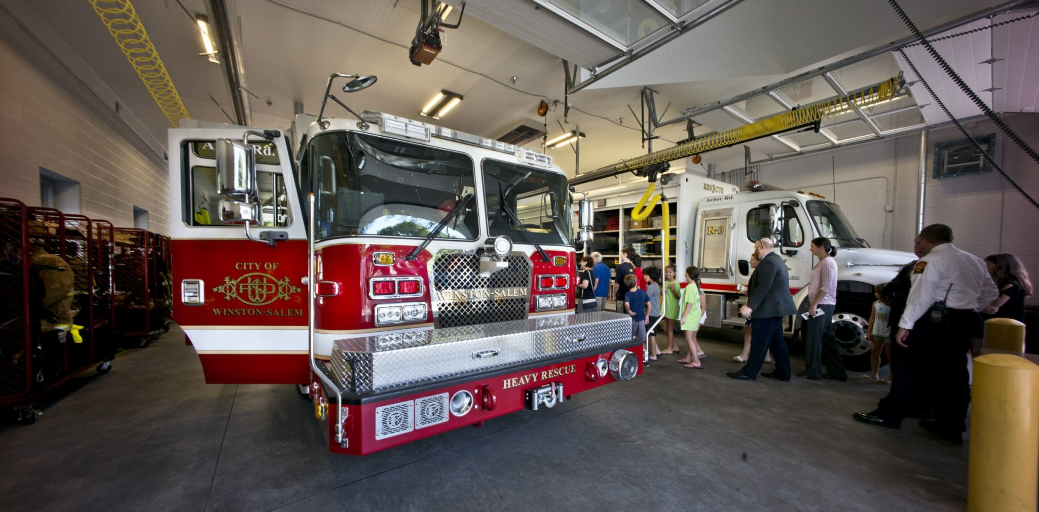 Two-year renovation gives Fire Station 7 space for equipment, better bathrooms and living quarters | Winston Salem Journal