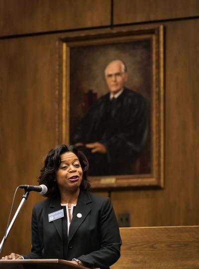 Renita Linville Sworn in Forsyth Clerk of Court