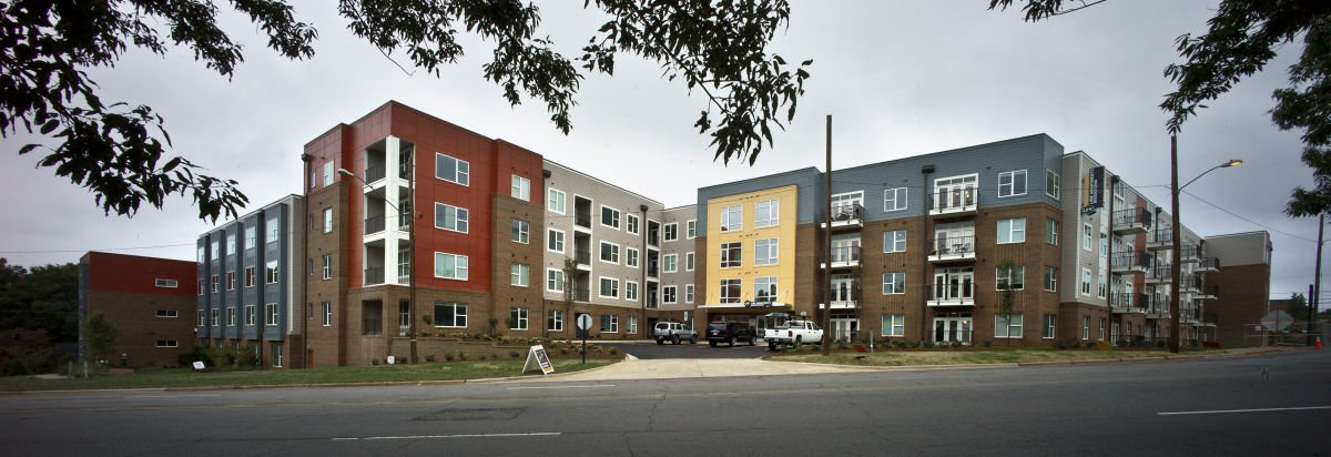 Link Apartments Are Nearing Completion