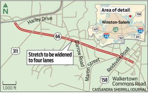 Walkertown residents weigh in on proposed widening of Old Hollow Road through town to four lanes