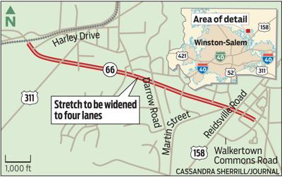 Road to be widened (WEB)