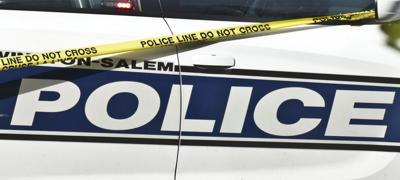 Winston-Salem police with crime tape