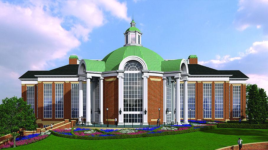 High Point University undergraduate sciences building rendering