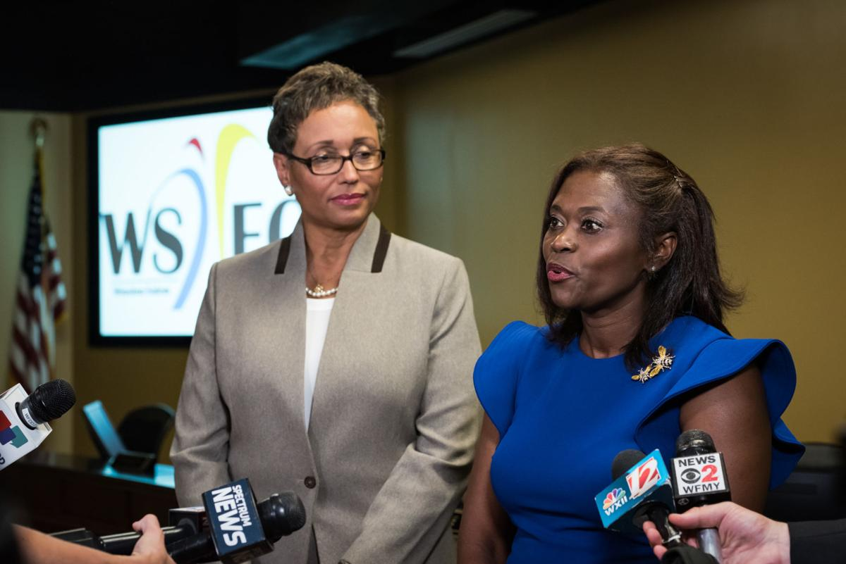 Angela Pringle New WSFCS Superintendent