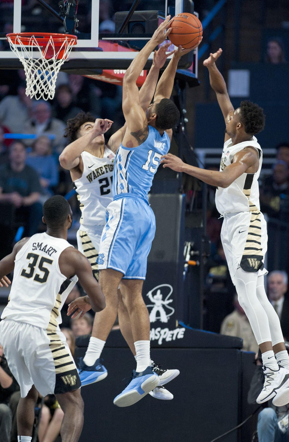 UNC Wake Forest basketball