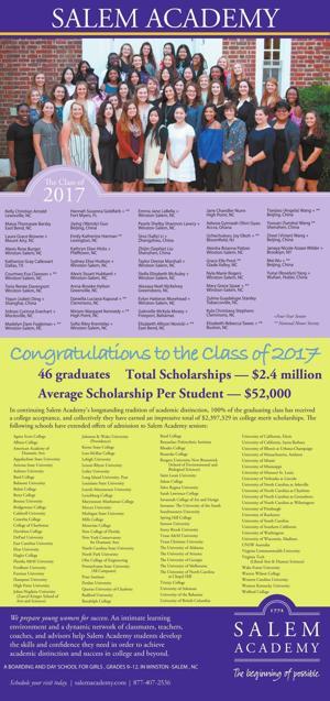 Salem Academy - Congrats Class of 2017
