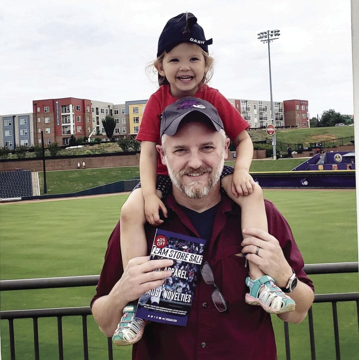 Ed Southern and daughter Eleanor at a Dash game.jpg