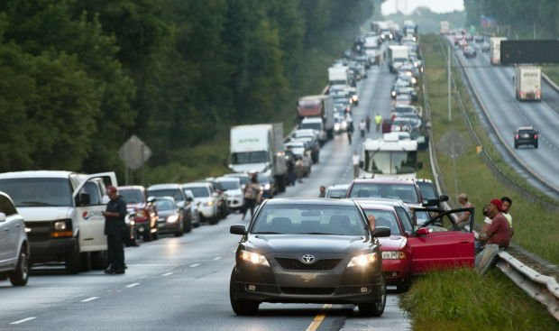 UPDATED: 30-car pileup snarls traffic on Business 40   Local