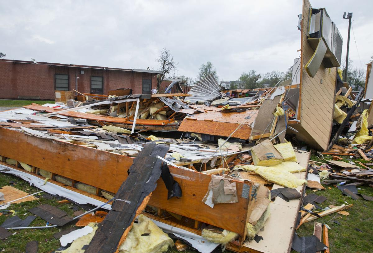Modular Classroom Nc ~ Tornado strikes east greensboro galleries journalnow