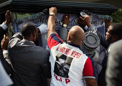 Julius Juice Sampson Jr Funeral