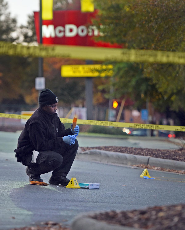 MLK Blvd McDonalds shooting