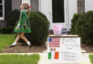 Ten days after 9/11, a child's Irish dance lifted hearts across the country. She learned a lesson that still guides her.