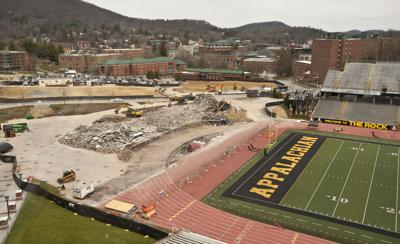 Appalachian State field house