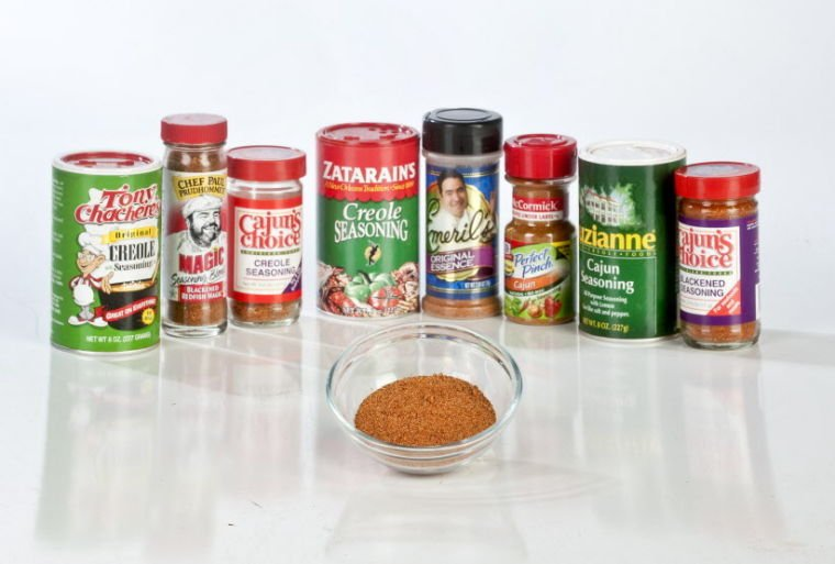 Taste testing store bought creole seasonings michael for Red fish taste