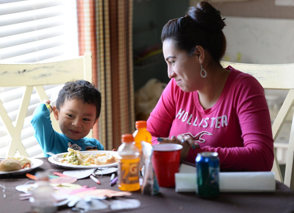 Volunteers feed families in time of need at Ronald McDonald