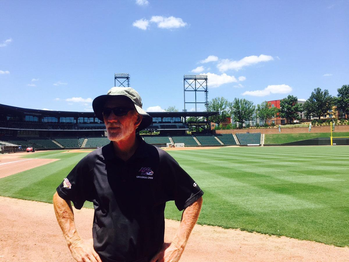 Groundskeeper keeps BB&T Ballpark looking good | Dash ...