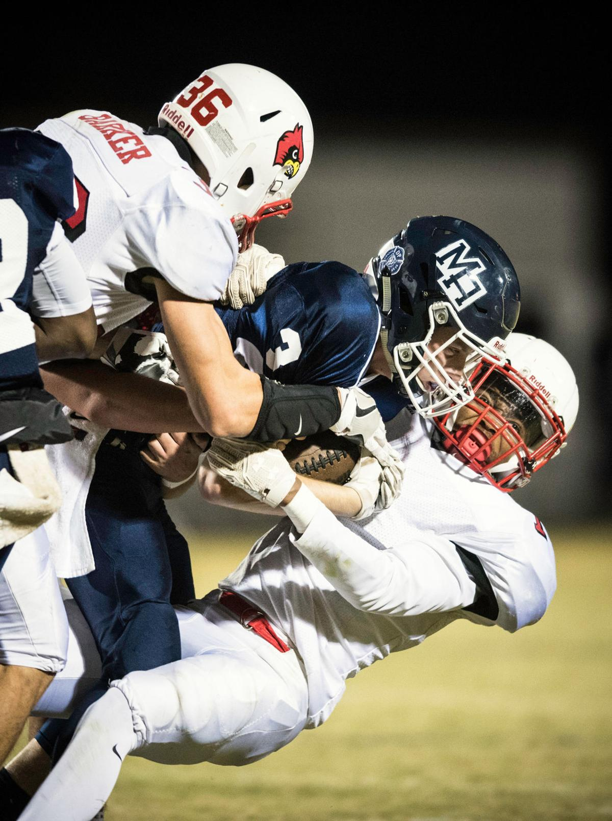 East Surry 21 10 Win Over Mount Airy In Football -