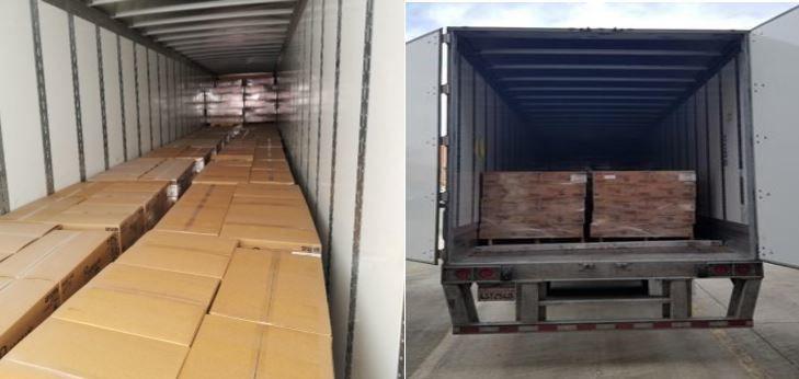 Stolen truck full of toilet paper