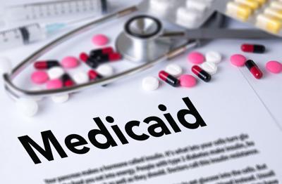 Medicaid Stethoscope and pills