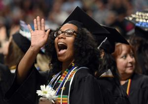 'You are the next generation of women power,' speaker tells 225 Salem College graduates