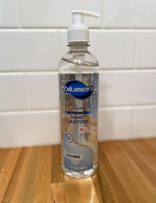 Sanitizer recall