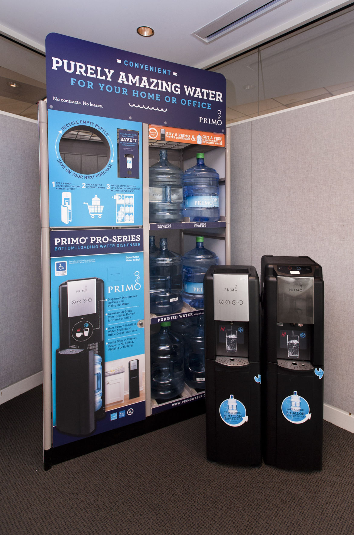primo water makes big profit splash sticking with core business local business - Primo Water Cooler