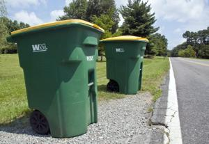 Recycling pickup for unincorporated areas of Forsyth County?